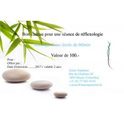 Bon pour un massage plantaire (Réflexologie)